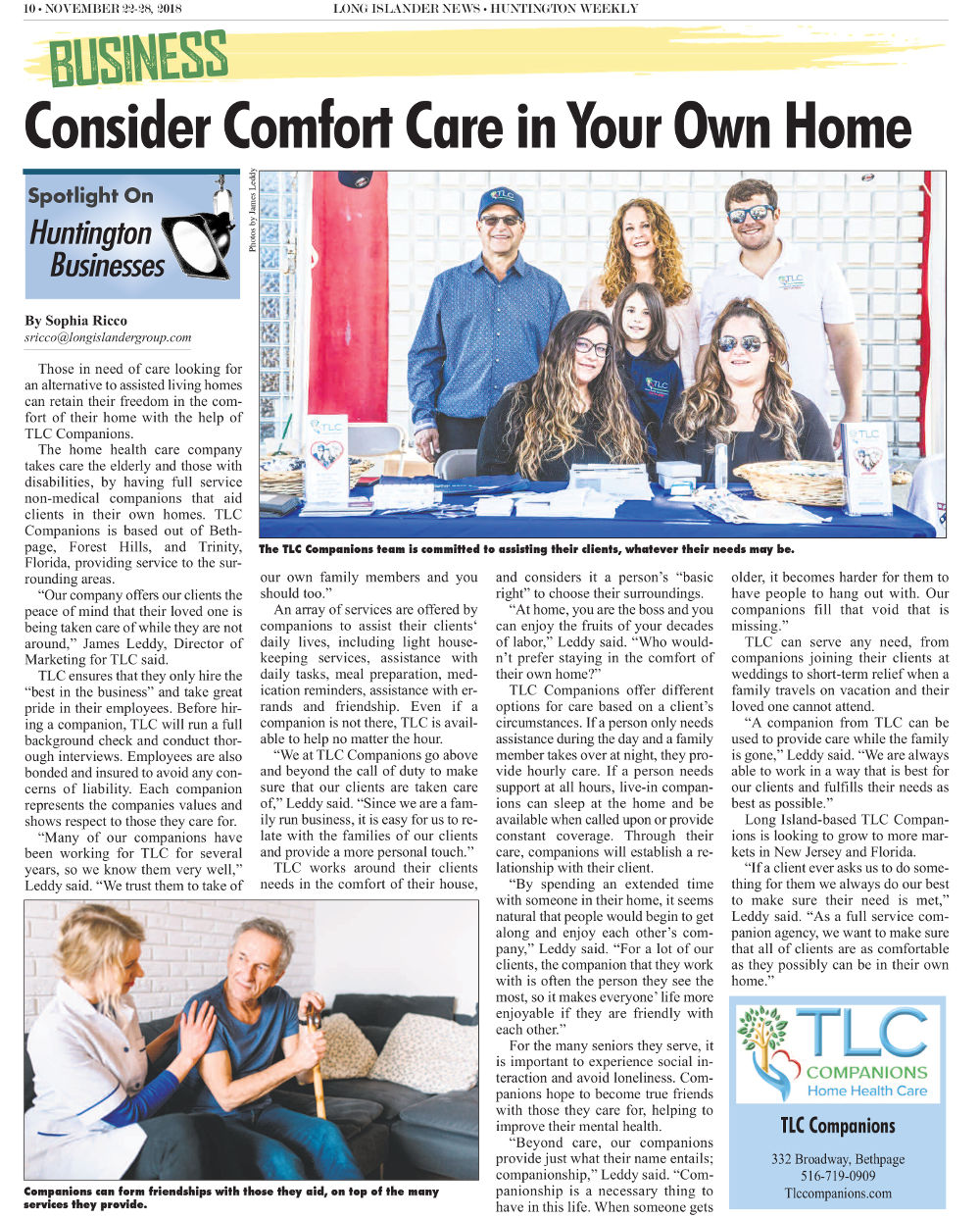 Comfort Care in Home